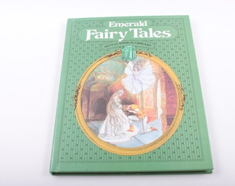 Emerald Fairy Tales, Gems Classics Library, Classics, Vintage, Children's, Book, Collection ~ The Pink Room ~ 161216
