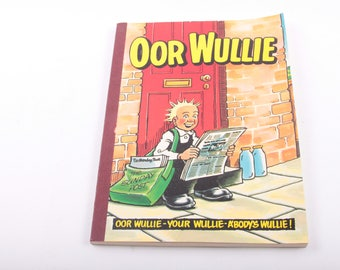Oor Wullie, Comics, Graphic Novel, Great Shape, Children's Book, Vintage ~ The Pink Room ~ 161002