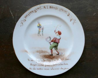 Royal Doulton Nursery Rhymes Banbury Cross Plate