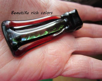 RED SALE Glass Pendent Handmade Lampwork  Glass Jewelry  GL2