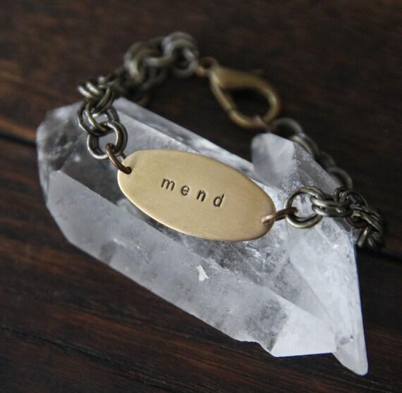 oval soul mantra bracelet
