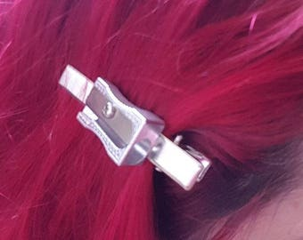 Pencil Sharpener Hair Clip
