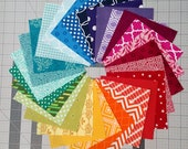 28 Color Wheel - Charm Squares - Quilting Fabric Bundle