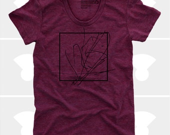 Women Abstract Box Tshirt  | Gift for Women | Gift for Wife | Gift for Daughter | Gift for Mom | Universe | Peace | Inspirational Art | Zen