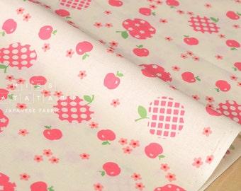 Japanese Fabric Atsuko Matsuyama Fancy Apple - pink - 50cm