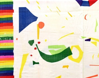 Nani Iro Kokka Japanese Fabric Wonder world - joy - 50cm