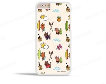 iPhone 6s Case Pineapple Phone Case Aloha Hawaii Cats iPhone SE Samsung Galaxy S7 Case Galaxy S6 Case