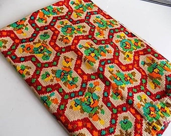 Vintage Cotton Alexander Henry Fabric - 1.16 yards