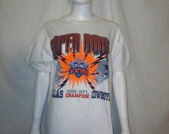 Dallas Cowboys t shirt,  NFL Super Bowl 1993 t shirt, 90s Dallas Cowboys t shirt