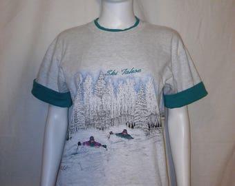 90s Ski Tahoe California Nevada t shirt