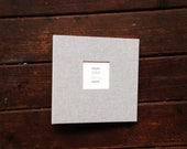 Baby Book,  A Unique Simple & Modern Baby Book (Natural Texture Cover, 9.25 x 9.5 New Minimal Design)