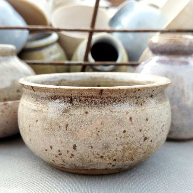 Stoneware Pottery Handmade By Me By JDWolfePottery On Etsy