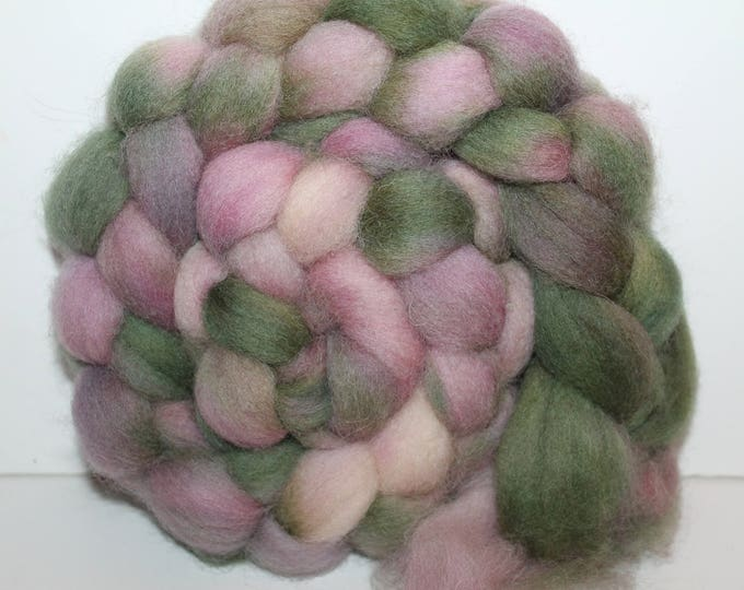 Kettle Dyed Cheviot Wool Top.  Easy to spin. 4oz  Braid. Spin. Felt. Roving. C61