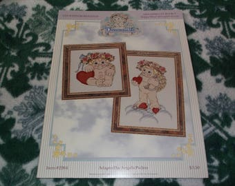 Dreamsicles Happy Heart and Cupids Arrow Cross Stitch Patterns