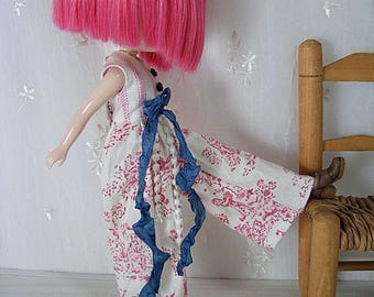 Blythe Overalls, Toile