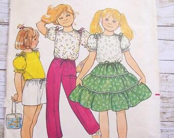 Butterick 4250 girls size 4 sewing pattern