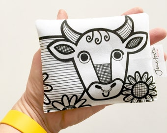 NEW smelly cow lavender bags designed and made by Jane Foster