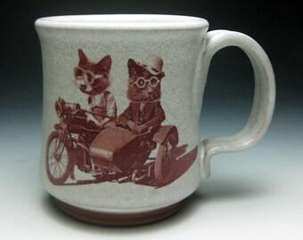 Motorcycle Cats Mug