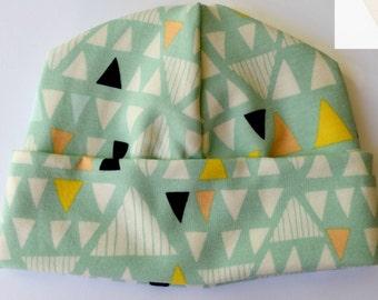 Art Gallery Modern Triangles Baby Hat