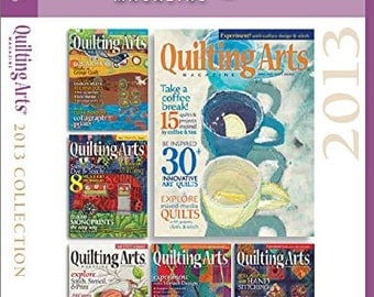 Quilting Arts Magazine: 2013 Collection CD