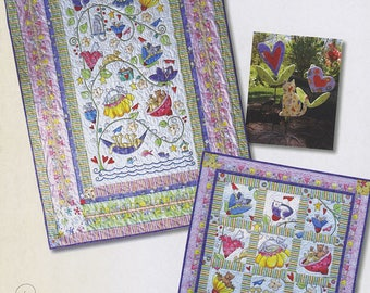 Happy Catz: Companion Book To Happy Catz Fabric From Red Rooster