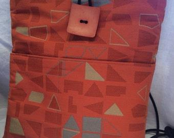 Summer Orange Julep Large Shoulder Bag