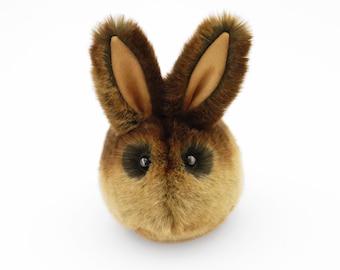 Stuffed Bunny Stuffed Animal Cute Plush Toy Bunny Kawaii Plushie Cinnamon Brown Bunny Rabbit Fuzzy Toy Medium Size 5x8 Inches