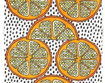 Oranges - IKEA Orangelilja Cotton Fabric