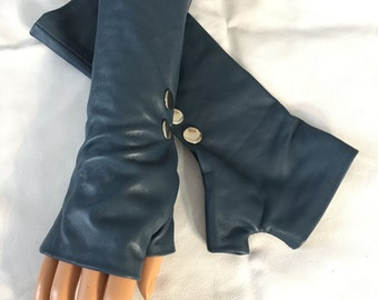 Blue women Gloves