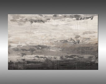 Lithosphere 167 - Art Painting Large Canvas, Original Abstract Painting Industrial Canvas Texture Wall Art Modern Art Paintings