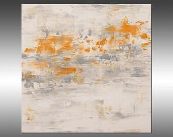 Rising Spirit 3 - Original Abstract Painting, Art Abstract Painting Large Wall Art Textured Painting Canvas Art Industrial Rustic Modern Art
