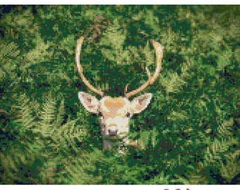 Oh, Deer! Mr X Stitch Nature Series Cross Stitch 001