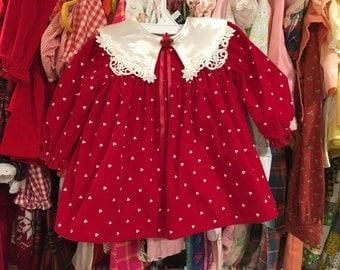Valentines' Day Dress 9/12 Months