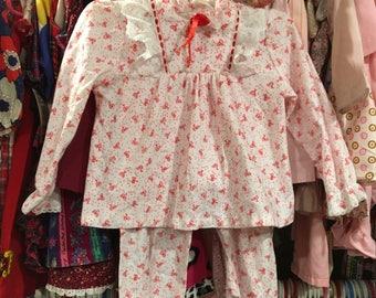 80s Pajamas 3/4T