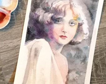 Mary Nolan original watercolour painting