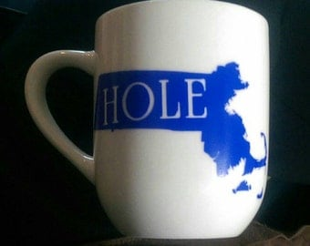 Masshole mug Massachusetts Pride