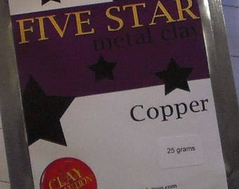 Five Star Copper Metal Clay