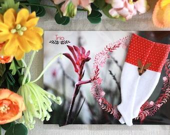 Kangaroo Socks for Blythe (Red)