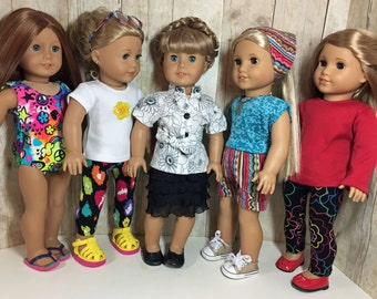 18 Inch Doll Clothes Large Lot 4