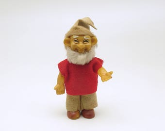 Vintage Christmas Decoration Elf Dwarf