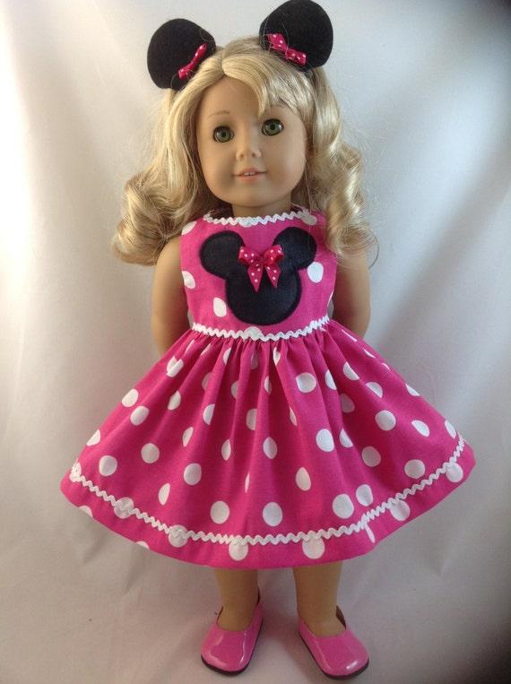 American Girl World : american girl doll dress pink minnie mouse polka dot ~ Russianpoet.info Haus und Dekorationen