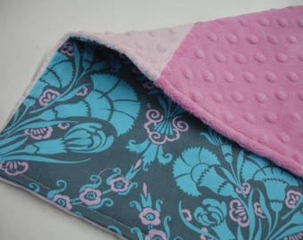 Josephine's Bouquet Baby Burp Cloth 9 x 13 READY TO SHIP