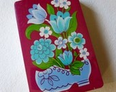 PLAYING CARDS - Vintage Unopened - Sealed Deck - Floral - Vintage Flowers - Altered Art - Supplies - NOS