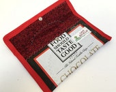 Chocolate Two Snap Pouch