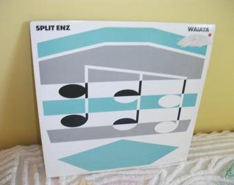 Split Enz Waiata Vinyl Record Album NEAR MINT condition