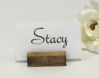Place Card Holder + Rustic Wedding Place Card Holders- Set of 100