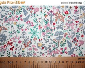 "SPRING SALE Liberty Tana Lawn ""FIELD Flowers"" 19 x 19cm (7.5 x 7.5"")"