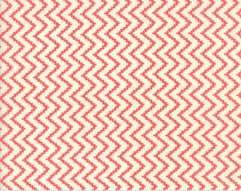 Coney Island (20284 26) Candy Apple Red Zig Zag by Fig Tree & Co.