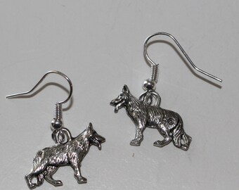 GERMAN SHEPHERD DOG Earrings - Pet