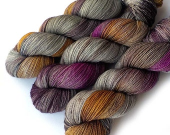 Lace Merino, Cashmere and Nylon Yarn - January Thaw, 560 yards